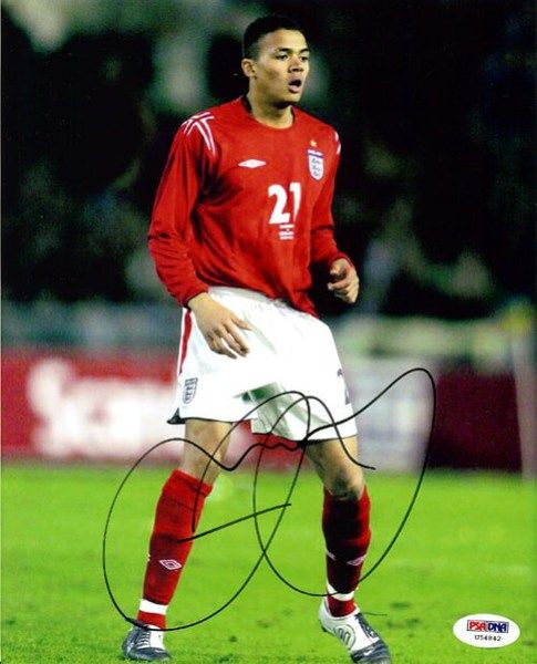 Jermaine Jenas Autographed 8x10 Photo PSA/DNA #U54842