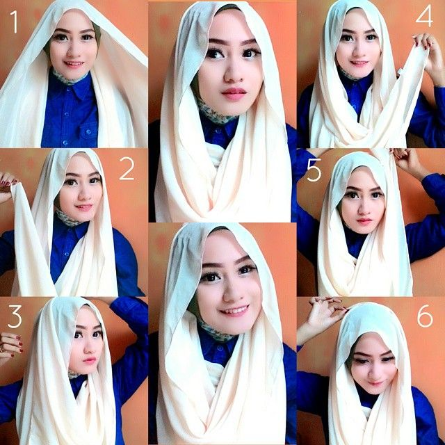 This is a hijab style to wear with your beautifull shirts, along with some gorgeous collar necklaces, as they will be shown through the loose hijab. Follow the steps below for the final look 1. Make sure your shirt is…
