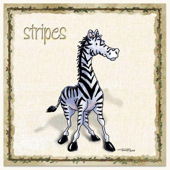 zebra-stripes-kids-wall-art.jpg (550×550)