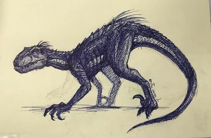 Indoraptor Jurassic Park World Jurassic World Dinosaurs Dinosaur Art