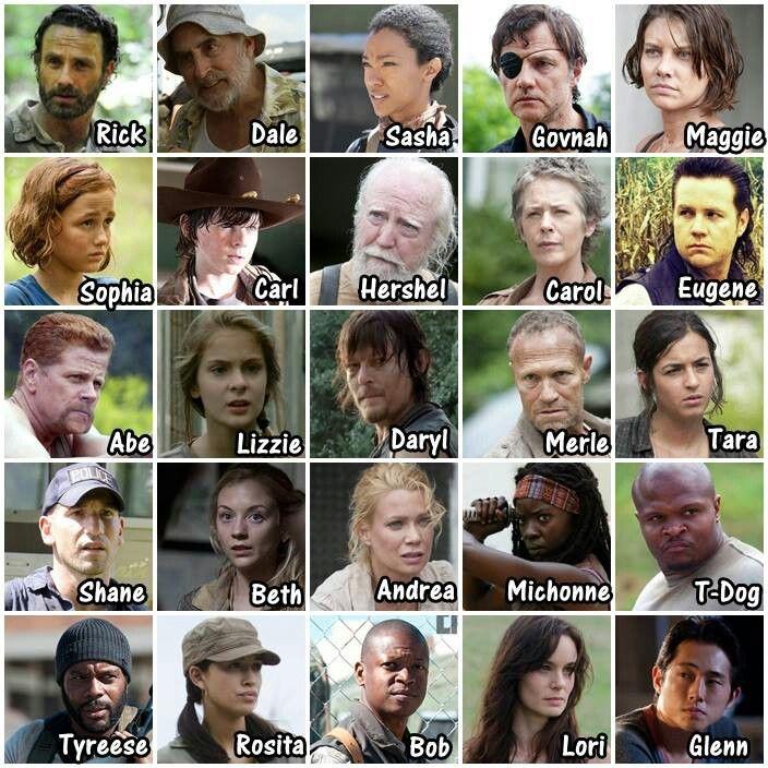 The Walking Dead Namen