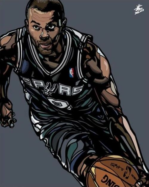 129 best tony parker images on pinterest san antonio spurs tony parker illustrated by korean artist min suk kim aka voltagebd Choice Image