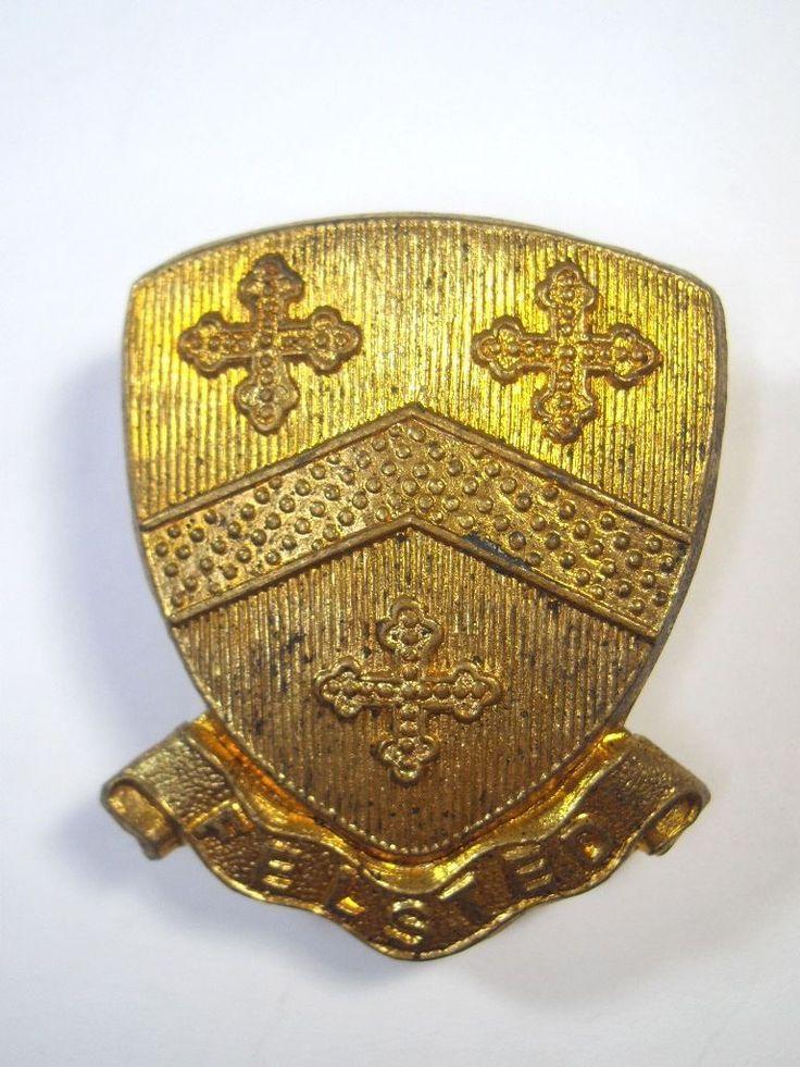 Felsted School OTC original Cap Badge.     | eBay