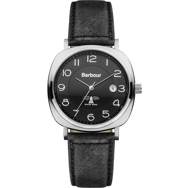 Barbour Mens Date Display Watch - BB018SLBK from WatchWarehouse