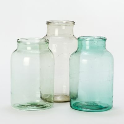 48 best images about watercolors in glass on pinterest for Uses for old glass bottles