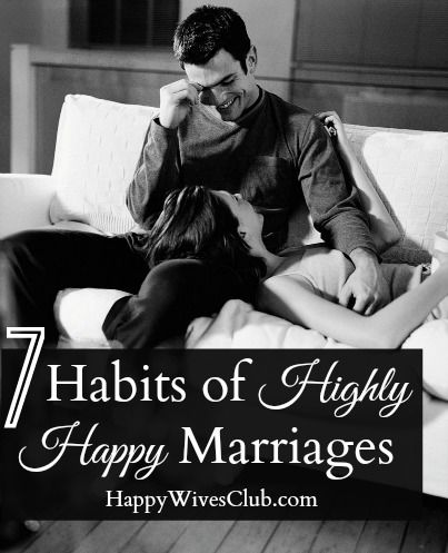 Happy and healthy marriage
