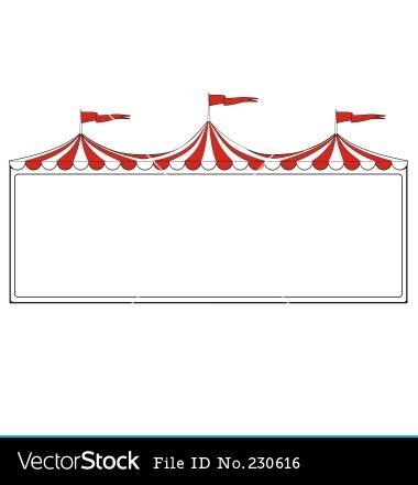 free to print circus border clipart | Circus border vector ...