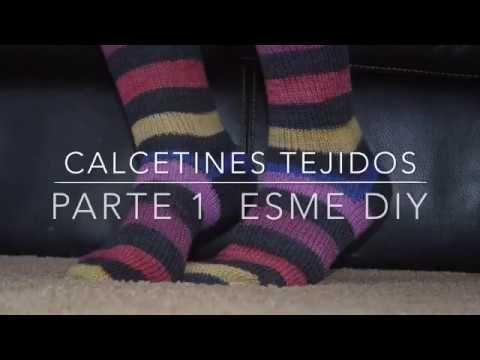 44 best Calcetines images on Pinterest | Calcetines de punto, Dos ...