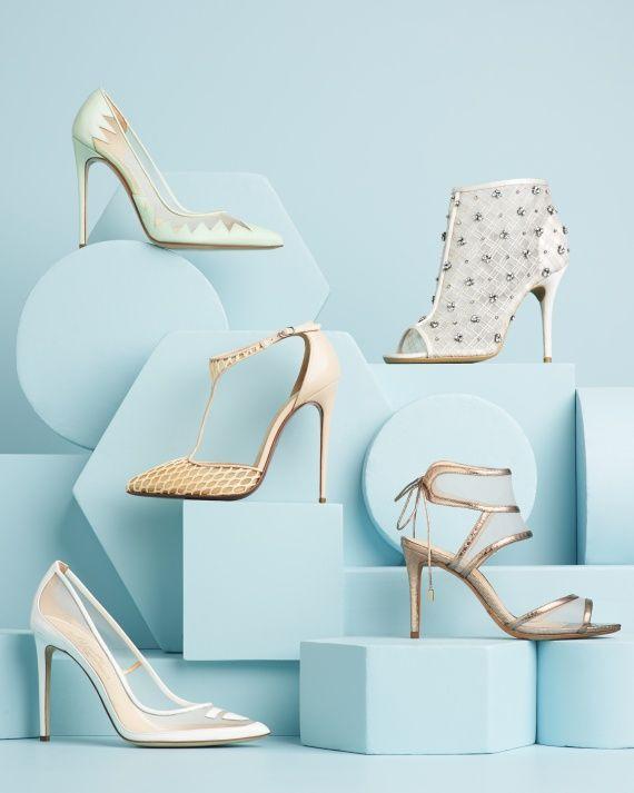 12 Wedding Shoes That Are a Sheer Delight - Fashion & Beauty - Martha Stewart Weddings