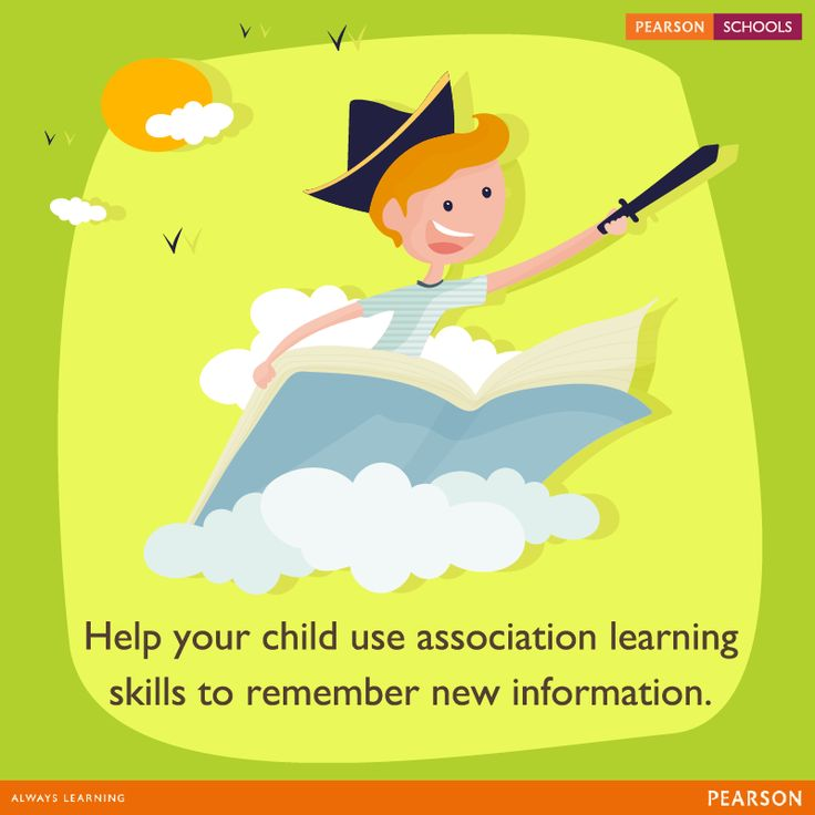 Associative learning is a condition theory which states that learning is based on a stimulus and a response. Find ways for your child to associate with the information and retrieve long-term memory. #LearningMadeEasy