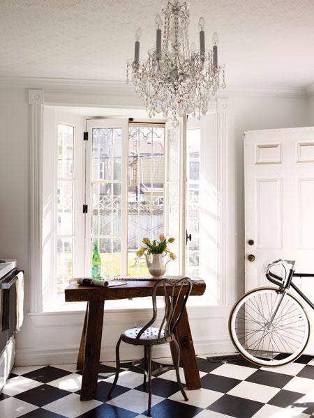 French interior white and fresh