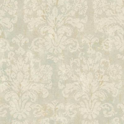 """Found it at Wayfair - Windermere Evelyn 27' x 27"""" Damask Distressed Wallpaper"""