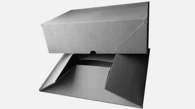 50 - 1000 Stülpschachtel DIN A4 (B)305 x (T)215 x (H)50 mm Aufrichtekartons