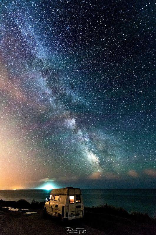 "- - *""Camping under the milky way""* ♥ Photo credits *Patrick Tanguy* https://500px.com/photo/224969677 #sea <https://plus.google.com/s/%23sea> #franc... - Zaid Abed -Ms - Google+"