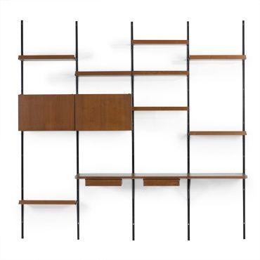 408: Osvaldo Borsani / Sistema E22 shelving < Modern Design, 7 October 2007 < Auctions | Wright