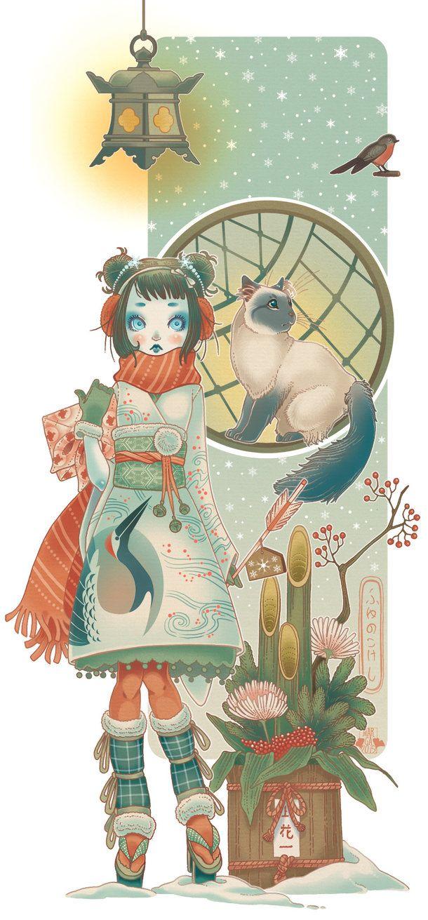 """""""io solo c'ero. Io, solo. E fioccava intorno la neve"""" Kobayashi Issa Oggi è il solstizio d'inverno, e con esso arrivano i miei auguri per queste feste invernali e la fine e il nuovo inizio inc..."""