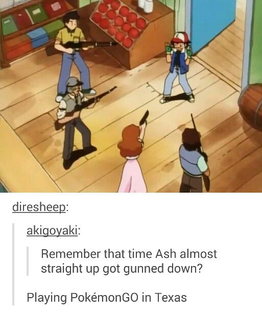 Pokemon scene
