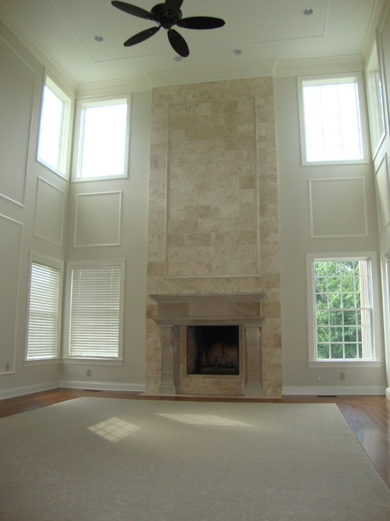 Two Story Fireplace Design Ideas Bathroomfurniturezone 2: Two-story Fireplace