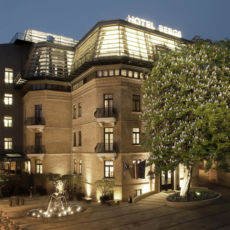 Hotel Bergs @Riga