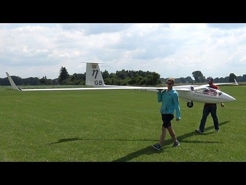 51ft. Rc Glider - ETA 50% - The Largest Rc Plane Of The World