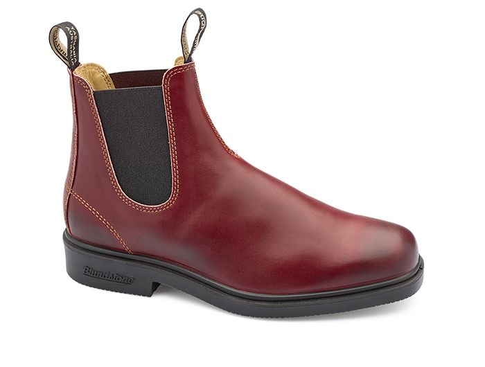 1302 Burgundy Rub - Leather Boots - Blundstone USA