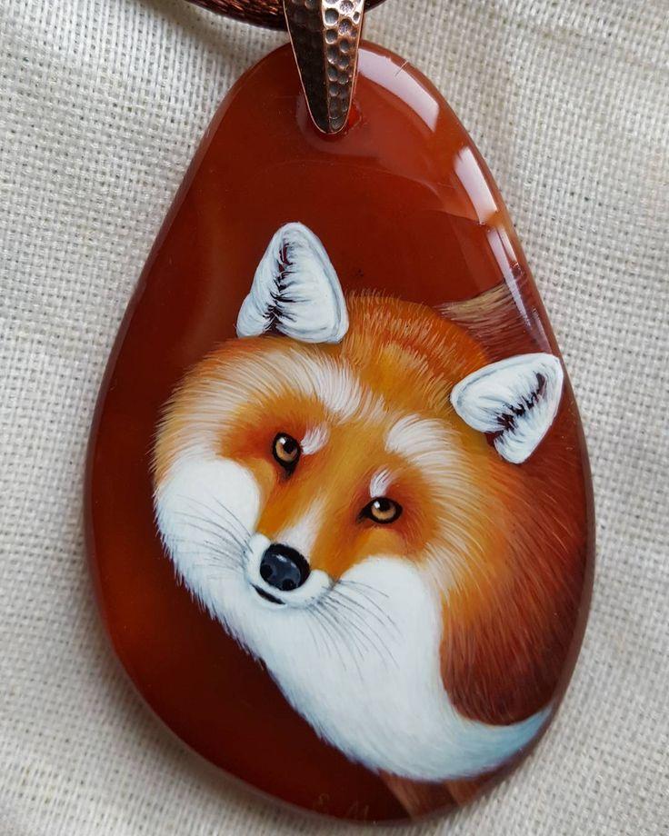 Кулон Лиса #лиса # fox #рыжая