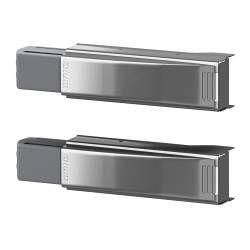 "INTEGRAL door damper for hinge Length: 3 1/8 "" Package quantity: 2 pack Length: 8 cm Package quantity: 2 pack"