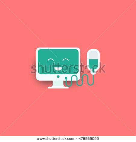 Pc Repairing icon vector illustration