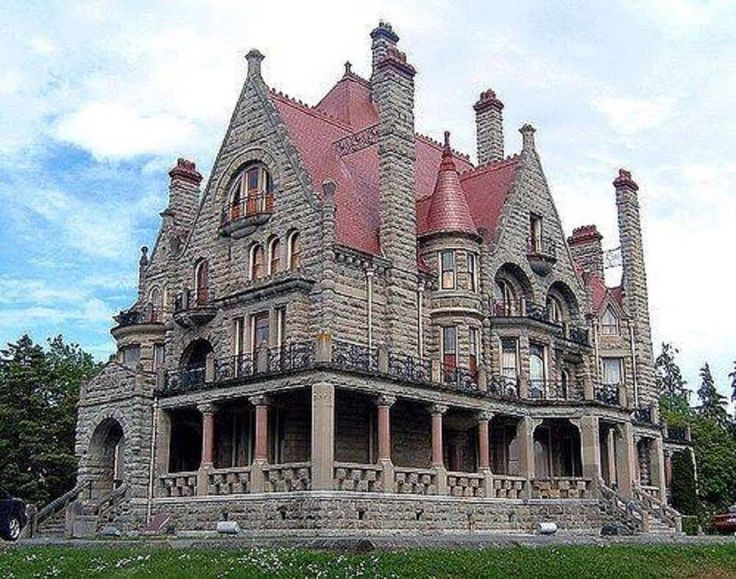 Craigdarroch Castle, Victoria, British Columbia, Canada Wonderful Castles In The World
