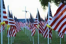 Memorial Day is a holiday observed on the last Monday in May. It honors those who died serving the United States Military.