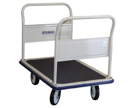 STURGO Double Handle Platform Trolley. Buy Trolleys / Carts Online - Hand Trolleys, Hand Carts - Backsafe Australia