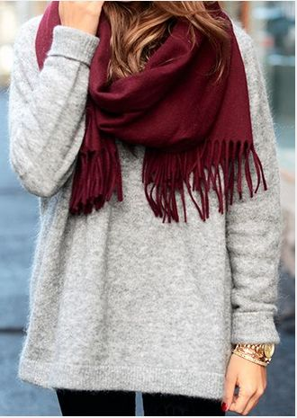 27 Latest Pretty Sweater Styles for Winter 2015 - 2016