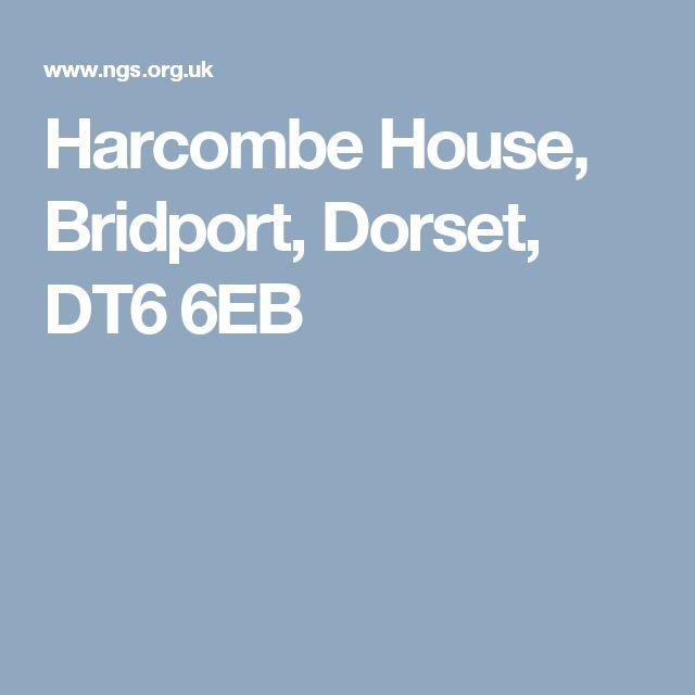 Harcombe House, Bridport, Dorset, DT6 6EB