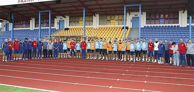 La Selección homenajeó a Miki Roqué