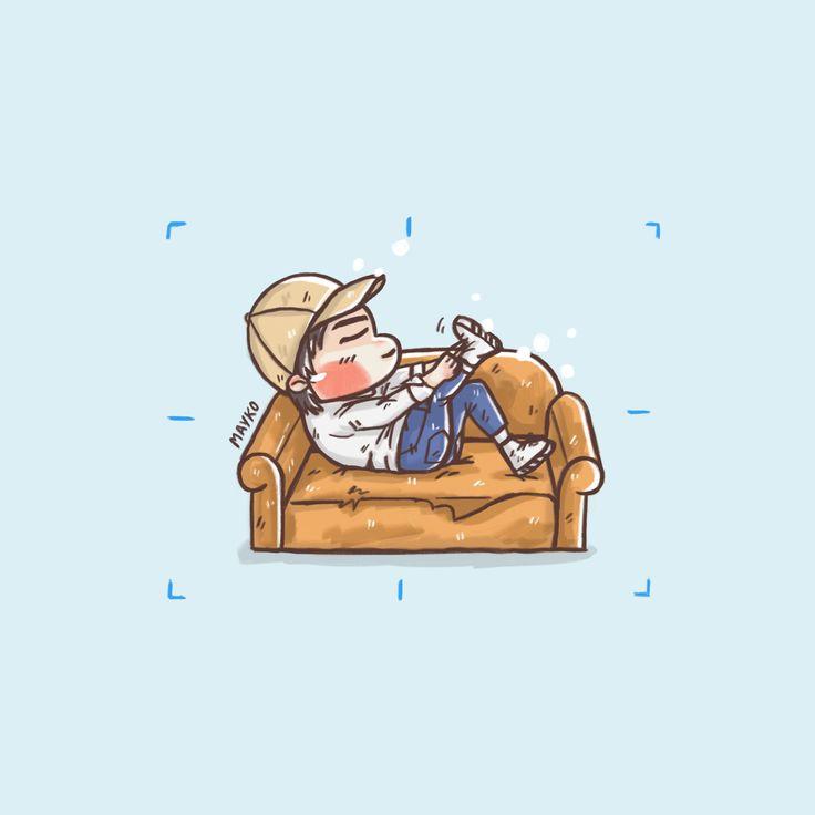 [Fanart] 💕#ONE #원 #oneday #DEBUT #Gettinby #heyahe #YG #onefanart #fanart #mayko