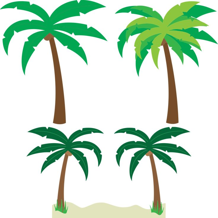 Palm tree art tropical palm trees clip art clip art palm tree 5 3