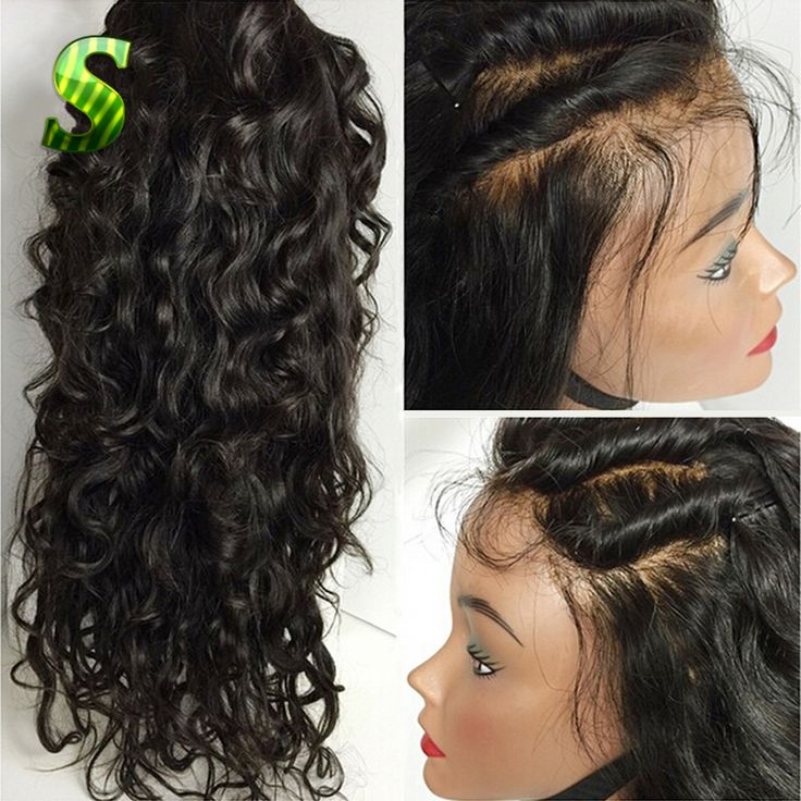 Malaysian Lace Front Wigs Virgin Hair Lace Front Human Hair Wigs With Baby Hair Body Wave Glueless Full Lace Wig For Black Women