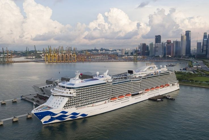 The Majestic Princess completed her maiden voyage which started in Rome to Marina Bay Cruise Center.