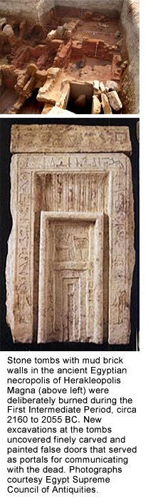 """CRIME OF THINIS AND THE BEGINNING OF THE MIDDLE KINGDOM - During Montuhotep II, 14th year of Service, described as """"The Year of the Crime of Thinis"""" (nome included the holy city of Abydos). Khety (a Heracleopolitan pretender king of the '10th dynasty') had gained control of Abydos, damaging and looting part of the old necropolis in the process, and set his sights on the rest of Upper Kemit. Montuhotep responded by launching an offensive and retook control of Abydos, Asyut and…"""
