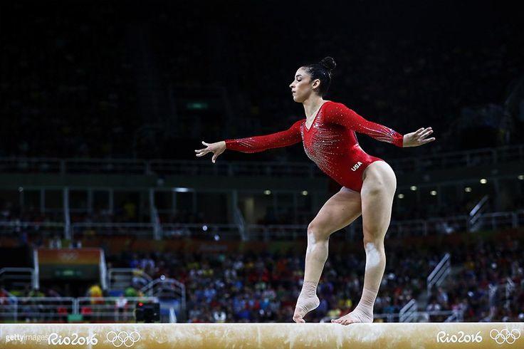Aly Raisman win silver 2016 Summer Olympics gymnastic AA