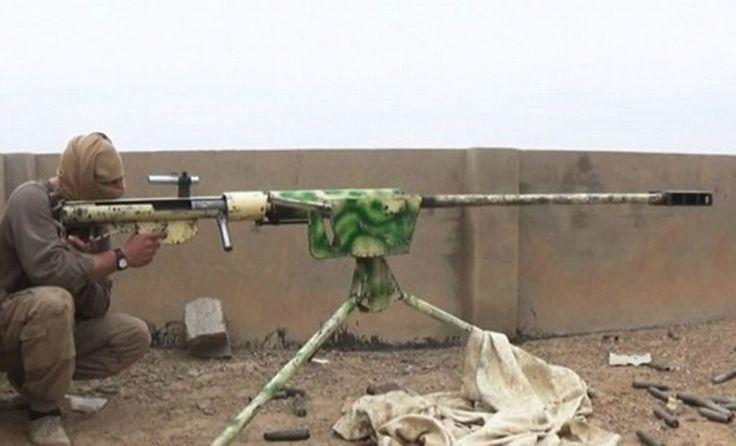 Ini Senapan Penembak Jitu yang Mampu Menembus Tembok Milik ISIS