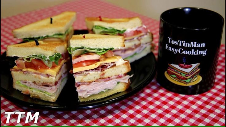 Club Sandwich Toaster Oven Recipe