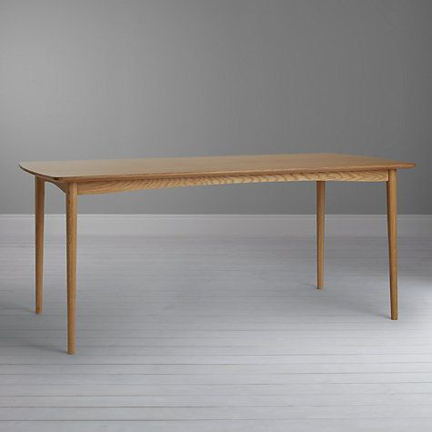 Buy John Lewis Ana 6 Seater Dining Table Online At Johnlewis