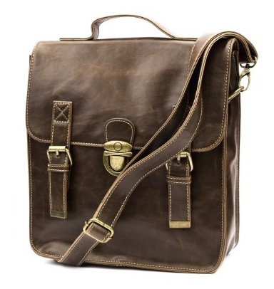 Girl's Vintage Casual Leather Messenger $41 . #fashion #women #bags #vintage