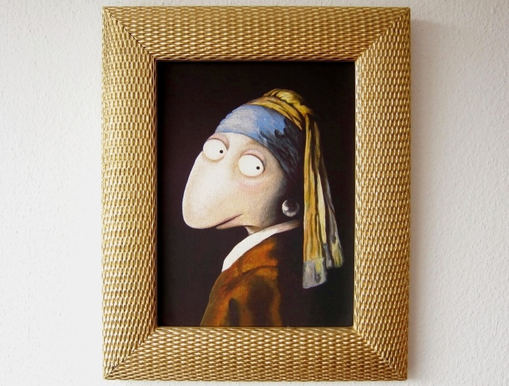 17 best images about art the girl with the pearl earring on pinterest the dutchess barbie. Black Bedroom Furniture Sets. Home Design Ideas