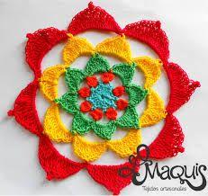 Resultado de imagen para mandalas al crochet