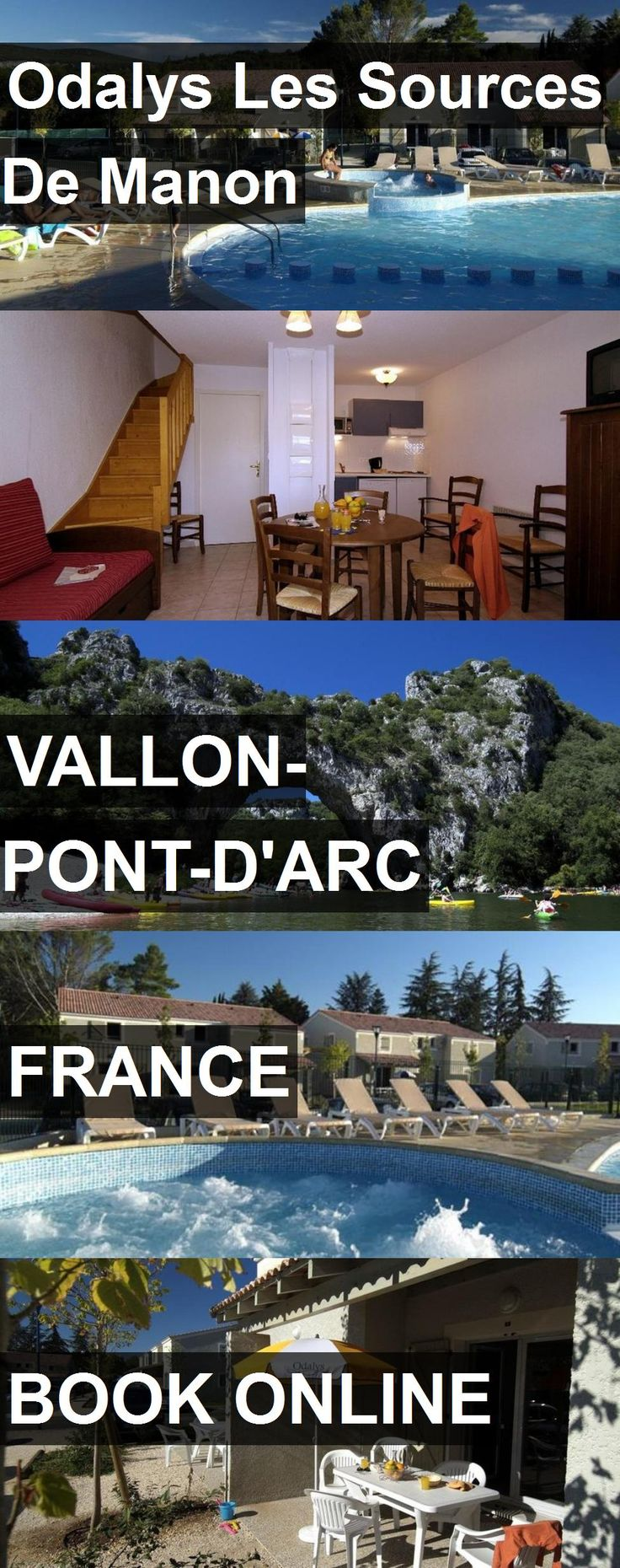 Hotel Odalys Les Sources De Manon in Vallon-Pont-d'Arc, France. For more information, photos, reviews and best prices please follow the link. #France #Vallon-Pont-d'Arc #travel #vacation #hotel