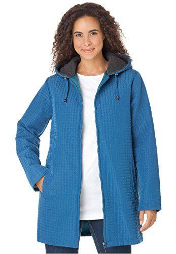 Women's Plus Size Jacket In Lightweight Mini Quilt http ...