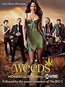 It took me four days to watch the 5 seasons of Weeds on Netflix. That's how awesome it is. Honestly i don't know what it is about this show; i've seen all the episodes at least twice i just never get tired of it. Awesome cast; odd twists and the wonder of how it's all gonna end.