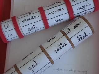 Aprendre a ser mestra... Blog dedicat a la lectoescriptura.